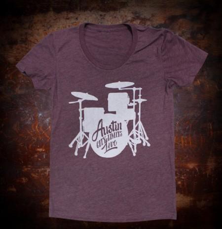 Ladies Plum Drum Shirt