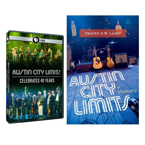Austin City Limits: A History (Book) + ACL Celebrates 40 Years DVD Bundle