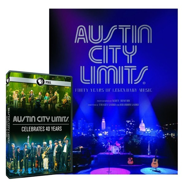 Austin City Limits: A Monument to Music Book + ACL Celebrates 40 Years DVD Bundle