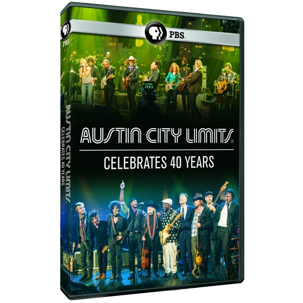 ACL Celebrates 40 Years DVD image