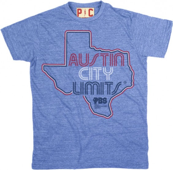 Men's Blue Shirt w/ Texas Outline image