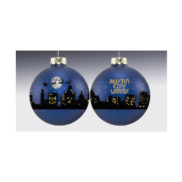 Austin City Limits Holiday Ornament
