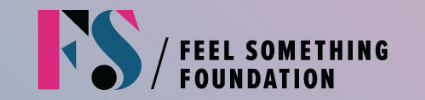 Feel Something Foundation logo