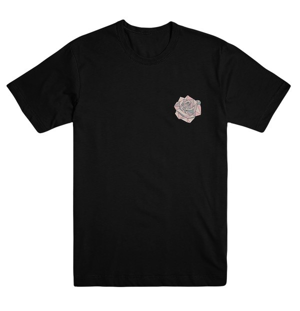 Black Flower Tee image