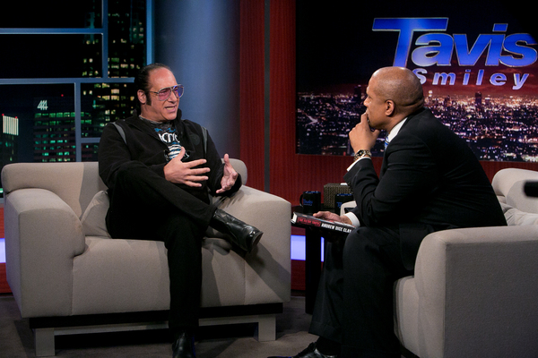 Andrew Dice Clay on Tavis Smiley