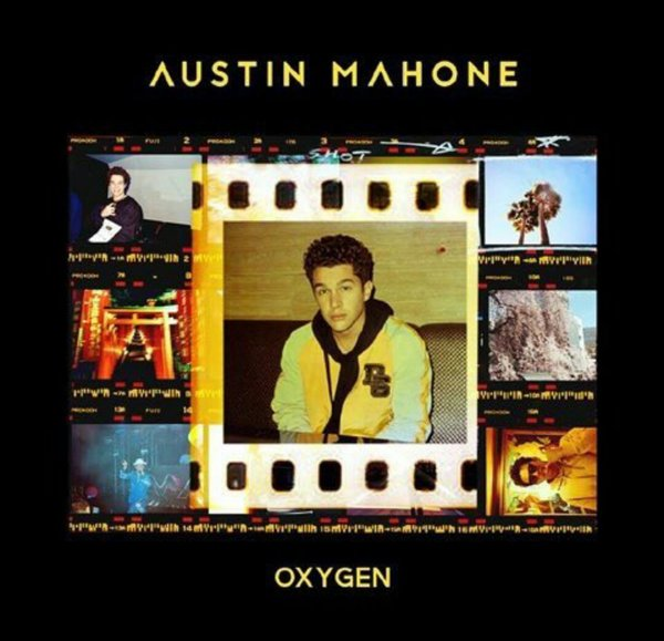 """Oxygen"" the EP by Austin Mahone Out in Japan"