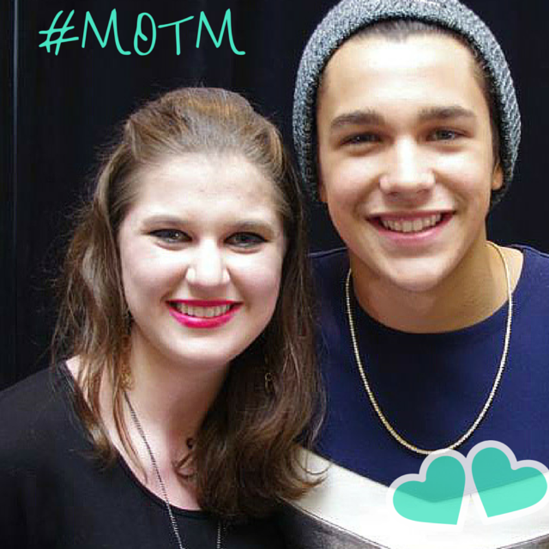Hello, Erika! Meet April's Mahomie of the Month.