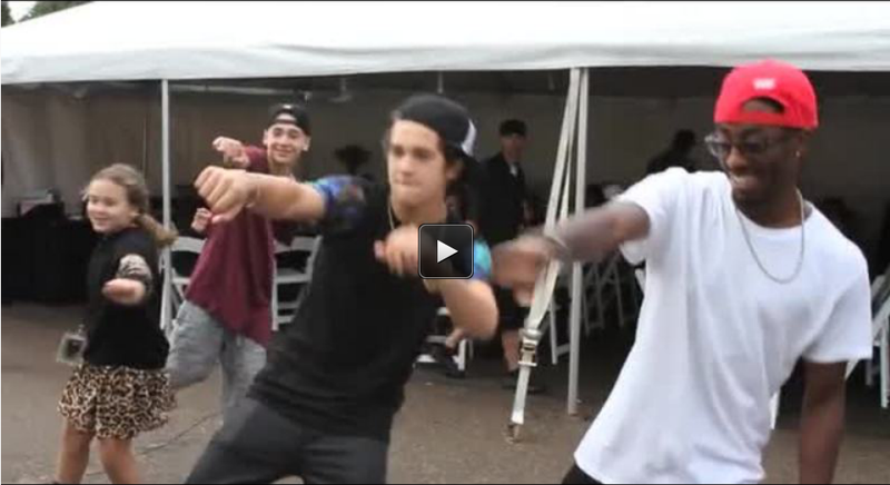 Weekly Exclusive: Austin Learns Some New Moves!