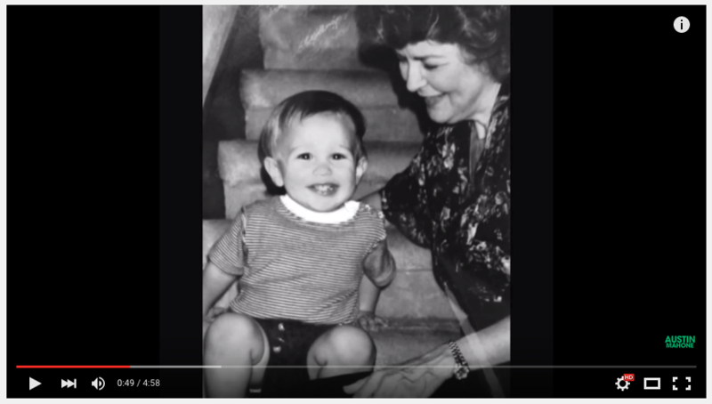 Watch Austin's New Emotional Video For His Grandma