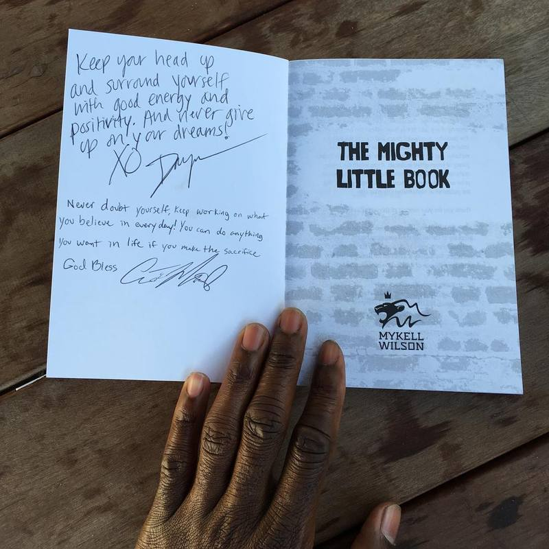 Win #TheMightyLittleBook autographed by Austin!
