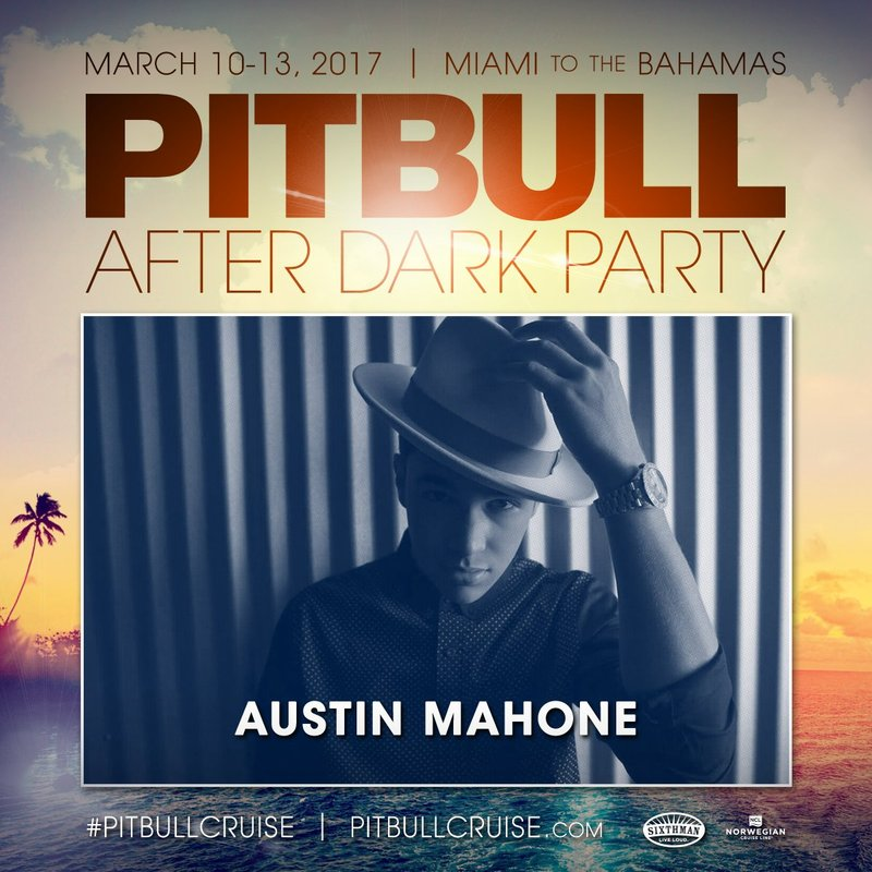 Austin Mahone Joins the Pitbull Cruise Lineup