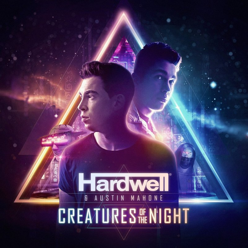 "HARDWELL FT. AUSTIN MAHONE ""CREATURES OF THE NIGHT"""