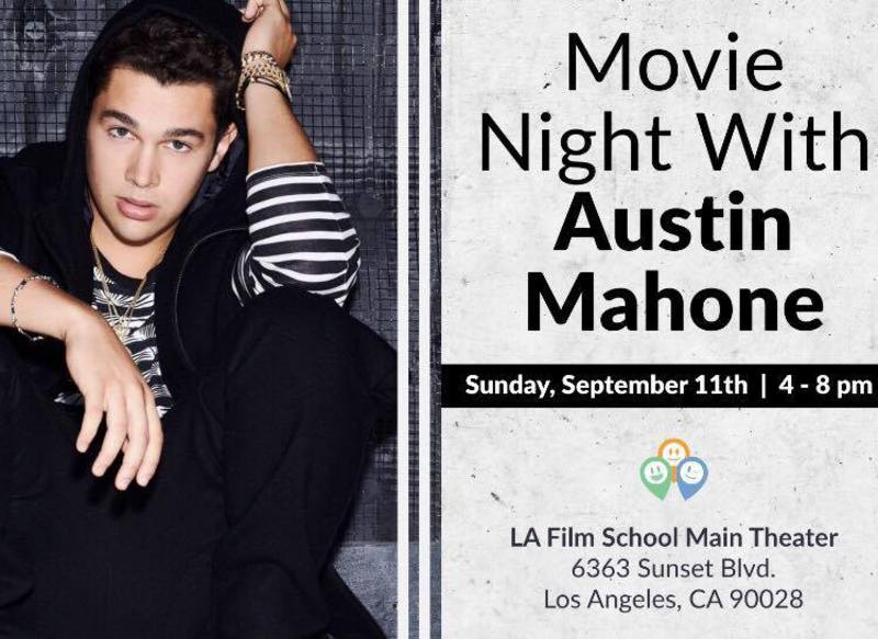 Movie Date with Austin in LA!