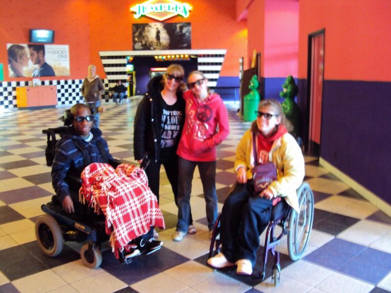 Fun at the movies!