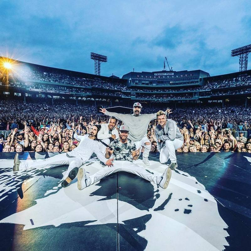 News article image The Backstreet Boys Take Fenway And Quebec - In One Weekend!