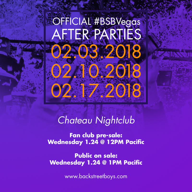 News article image JUST ANNOUNCED: February #BSBVegas Official After Parties