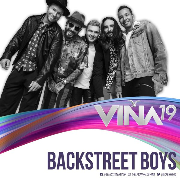 BACKSTREET BOYS REGRESA AL FESTIVAL MÁS IMPORTANTE DE HISPANOAMERICA