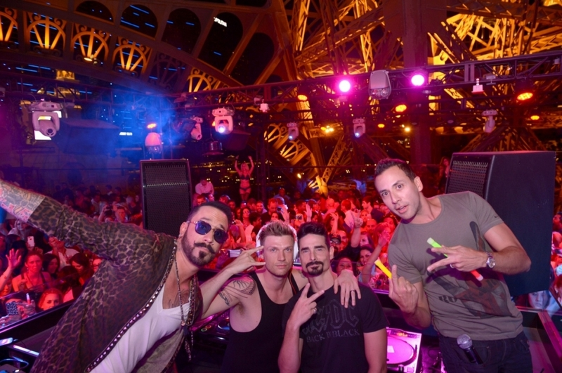 backstreet boys at chateau nightclub - danny lush promoter guest list vip bottle service free entry pool party