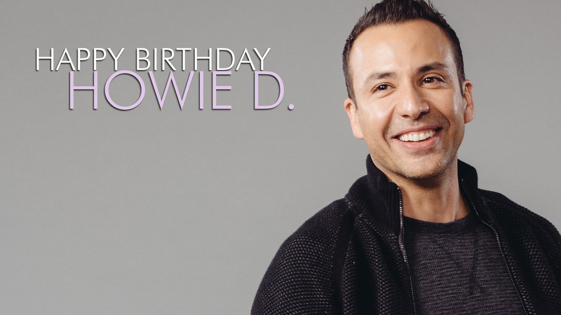 News article image Happy Birthday, Howie D!
