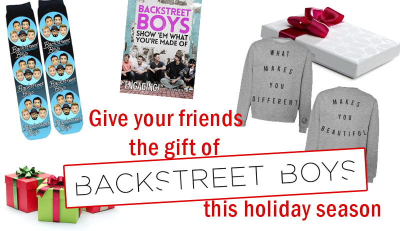 News article image Give your fellow fans the gift of Backstreet Boys this holiday season