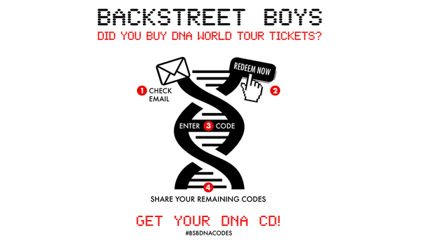 News article image REDEEM YOUR DNA CD TODAY! #DNAWorldTour