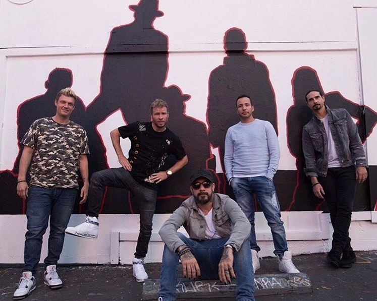 News article image A Backstreet Break: Catch Up With What's Keeping The Boys Busy
