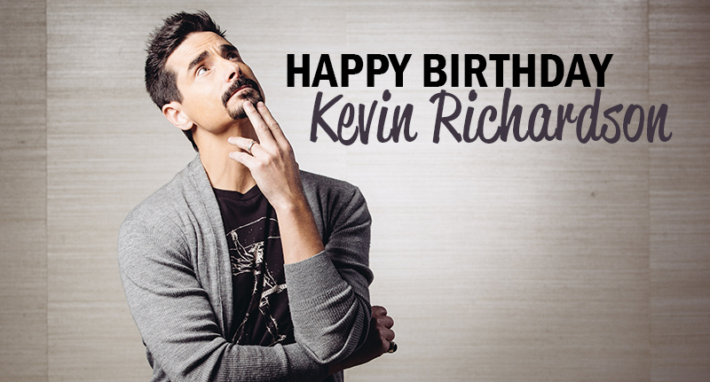 News article image Happy Birthday, Kevin Richardson!