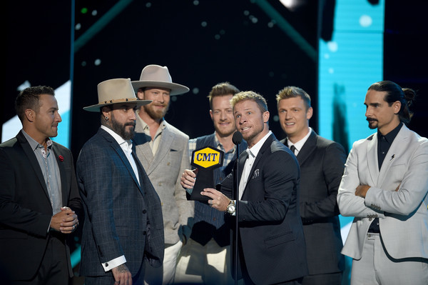 The Backstreet Boys Celebrate Wins In Nashville
