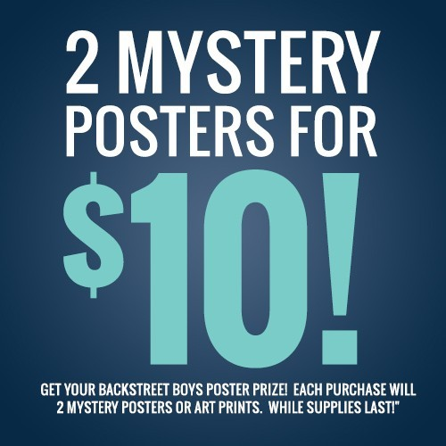 Mystery Poster Pack
