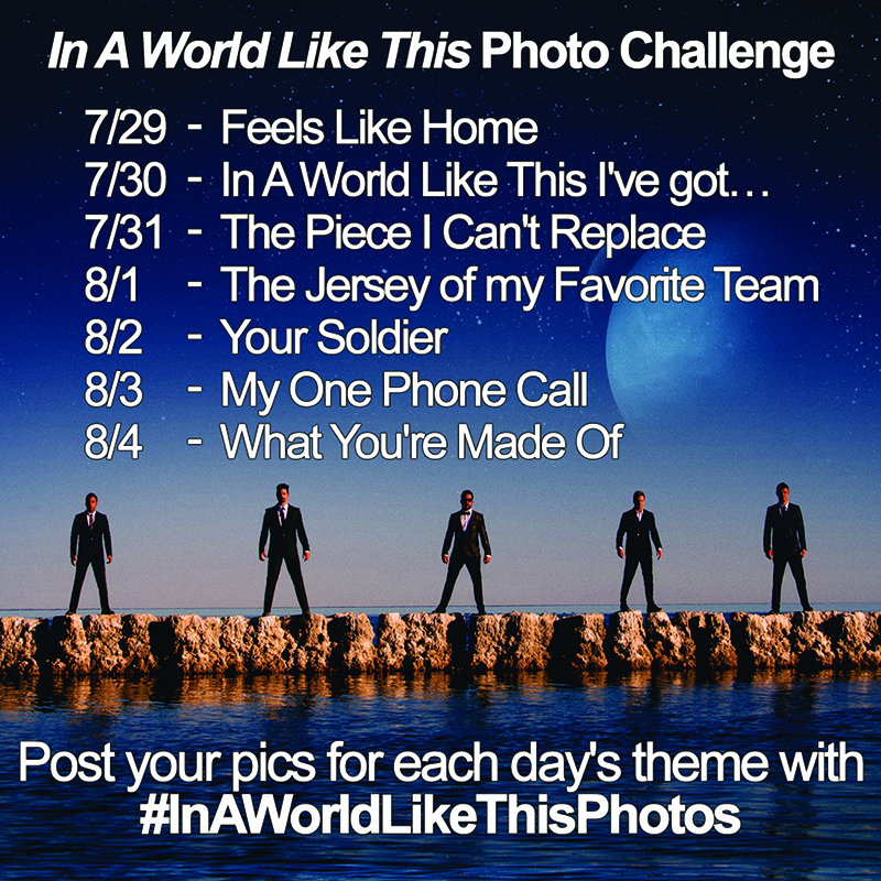 "Backstreet Boys - ""In A World Like This"" Photo Challenge"