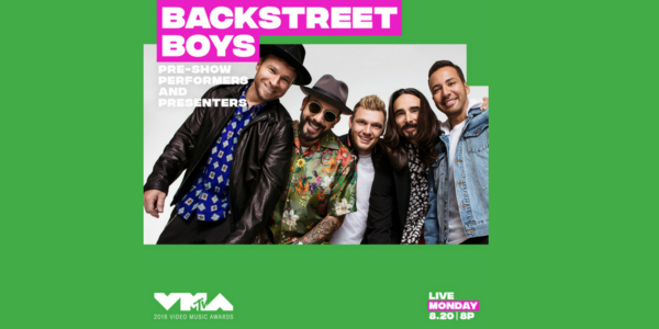 BSB at the 2018 MTV VMAs