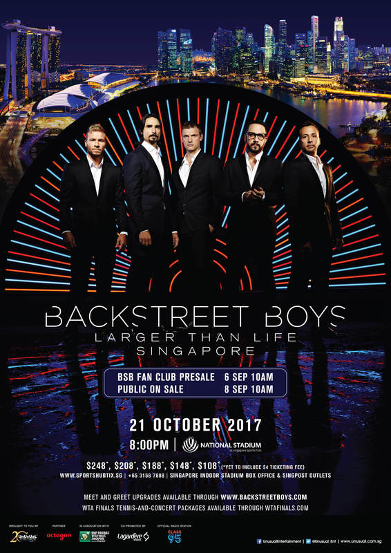 News article image UPDATED WITH VIP INFO - BSB Live in Singapore