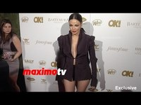 Bleona Qereti | OK! Pre-Grammy Party 2015 | Red Carpet