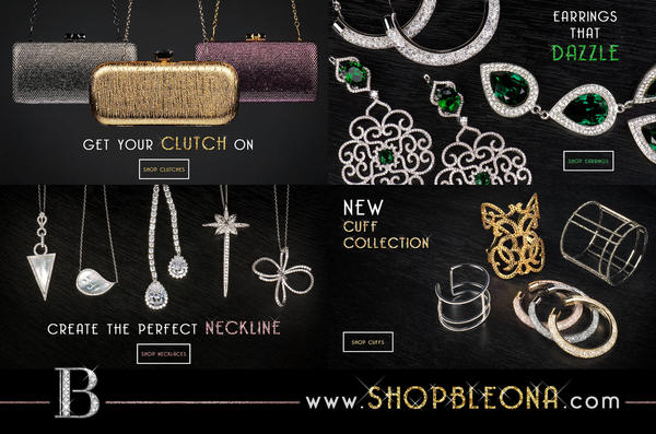 New Jewelry Line at Shopbleona.com