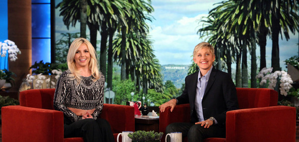 Britney On The Ellen Show!