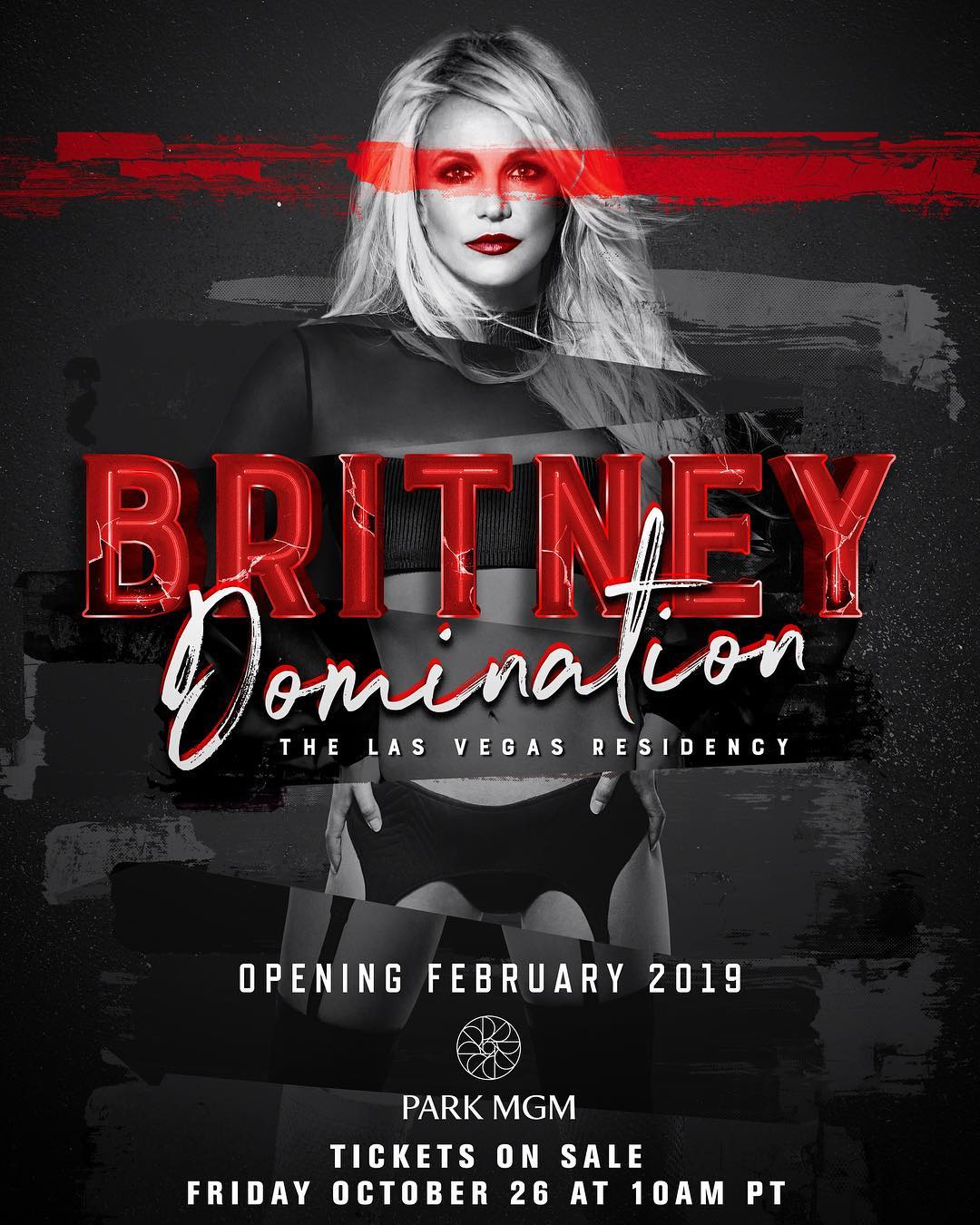 Britney Spears Domination Las Vegas