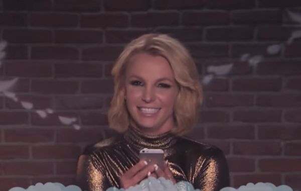 Britney Reads 'Mean Tweets' on Jimmy Kimmel Live