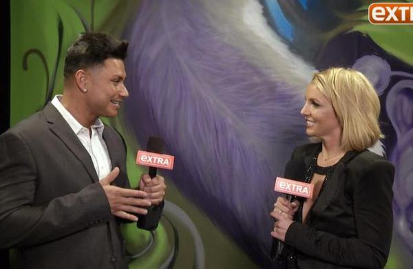 Britney Takes Extra TV's Rapid-Fire Quiz