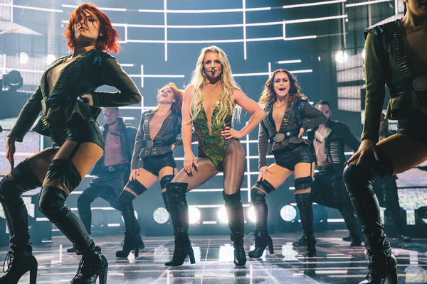 Britney Performs at Apple Music Festival