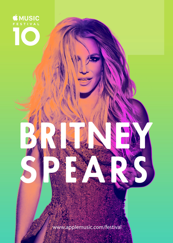 Britney's Performing at Apple Music Festival 2016!