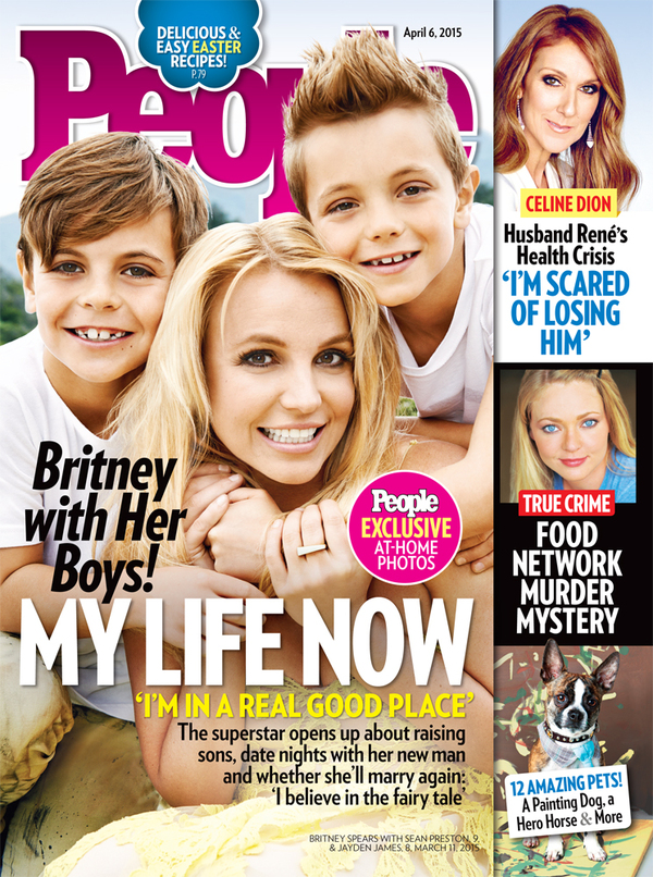 Britney on the Cover of People Magazine