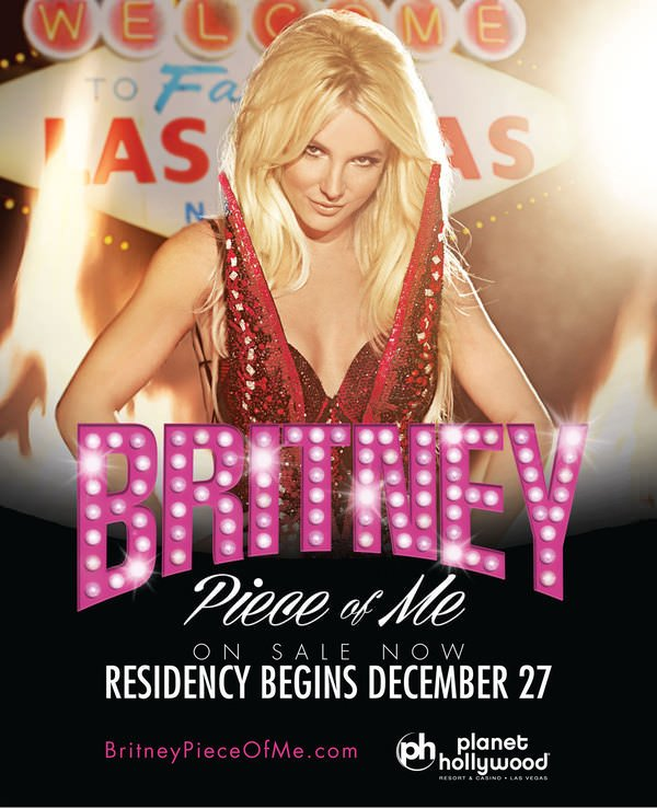 Britney: Piece Of Me Tickets On Sale Now!