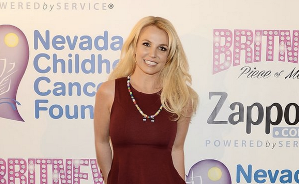 Britney Talks about 'Piece Of Me' and NCCF on Extra TV
