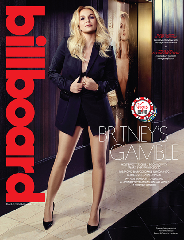 Britney Covers Billboard Magazine