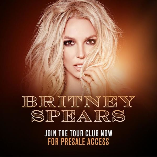 BRITNEY SPEARS ANNOUNCES THE BRITNEY TOUR CLUB