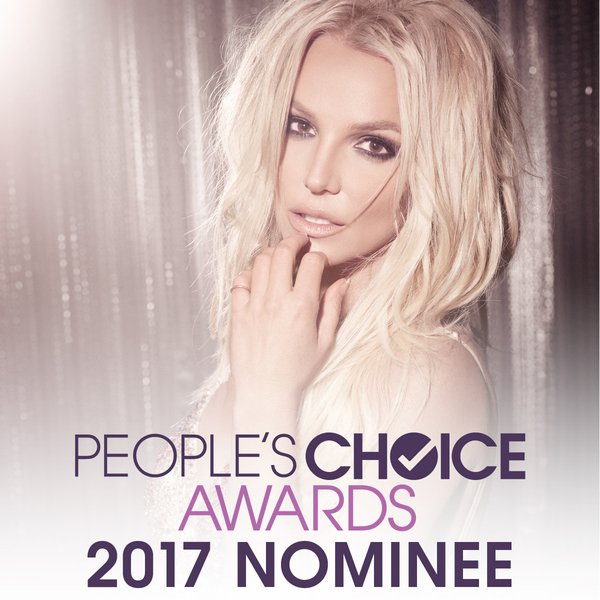 Britney Earns 4 People's Choice Award Nominations