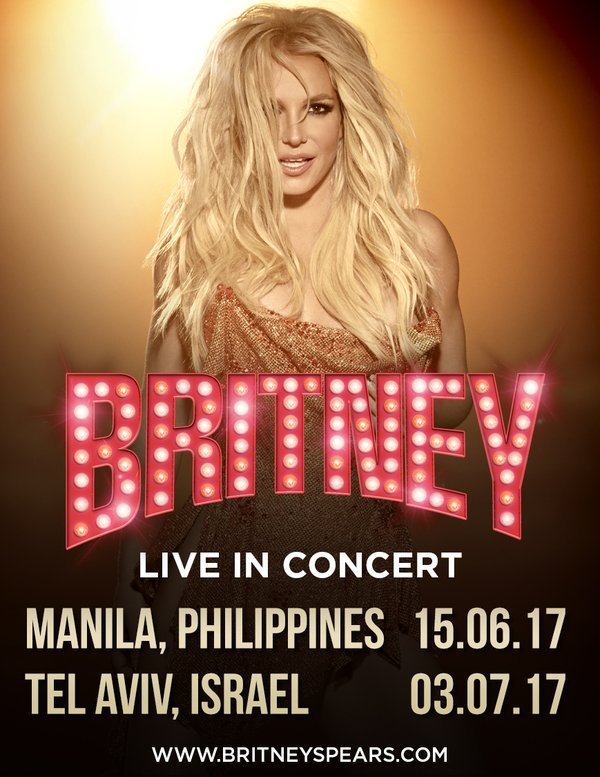 BRITNEY ANNOUNCES NEW CONCERTS