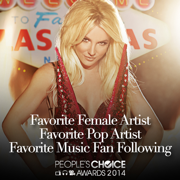 Nominate Britney For The 2014 PCA's!