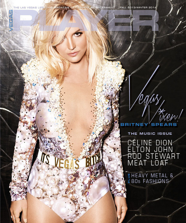 Britney On The Cover Of Vegas Player
