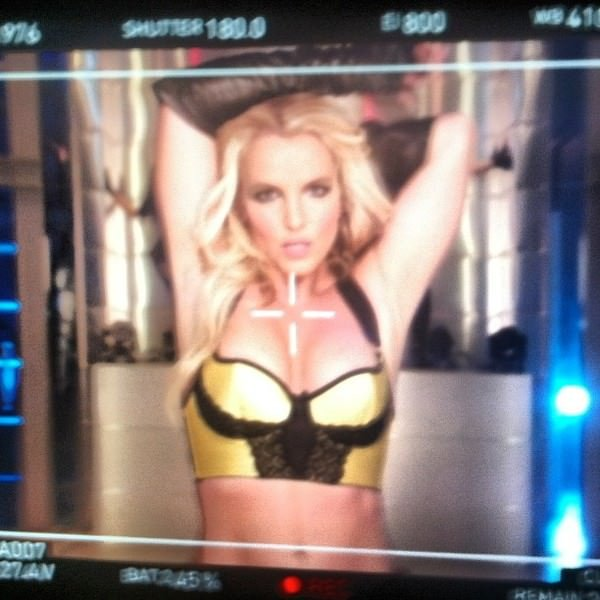 'Work Bitch' Video Shoot!